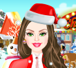 Games Barbie Christmas Dress Up