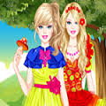Games Barbie Puppet Princess Dress Up