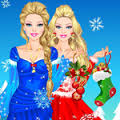 Games Barbie Winter Fashion Dressup