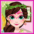Games Fairy Face Painting Design