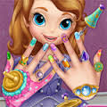 Games Sofia The First Halloween Makeover