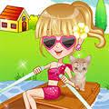 Games Boat Trip Dressup