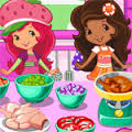 Games Strawberry Shortcake Cooking Soup