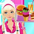 Games Barbie Fun Cafe